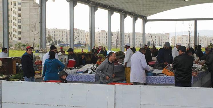 Actu Actu Marchés de proximité à Tanger :  Plus de 4.050 bénéficiaires recasés
